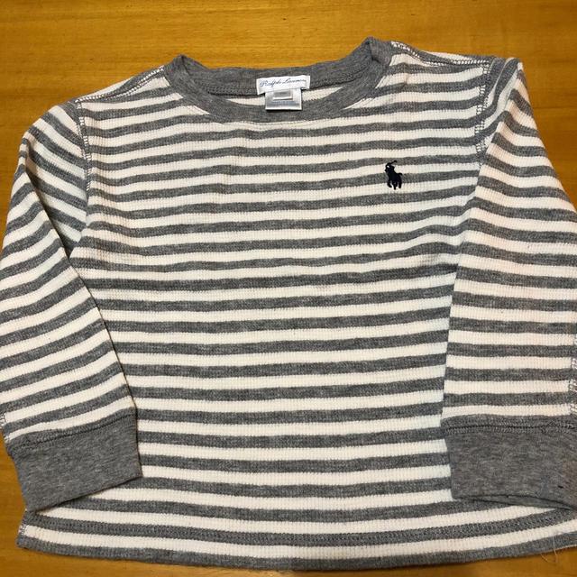 Ralph Lauren(ラルフローレン)のRalph Lauren 綿ニット 18M キッズ/ベビー/マタニティのベビー服(~85cm)(Tシャツ)の商品写真