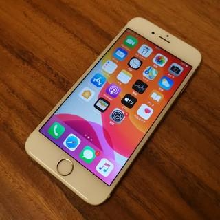 iPhone - iPhone6 64GB gold au