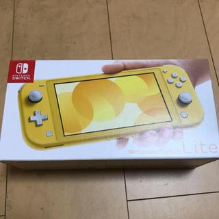 Nintendo Switch - 最終出品!Nintendo Switch Lite本体 イエロー新品未開封☆