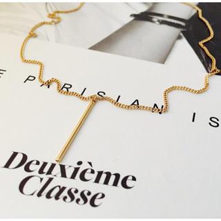 DEUXIEME CLASSE - ★新品 DEUXIEME CLASSE ドゥーズィエムクラス バーネックレス