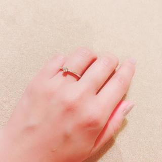 ヴァンドームアオヤマ(Vendome Aoyama)のラザールダイヤモンド  エンゲージリング9号(リング(指輪))