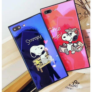 iPhoneケース スヌーピー スクエア型 (iPhoneケース)