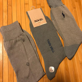 Ralph Lauren - メンズ 靴下3足 薄手