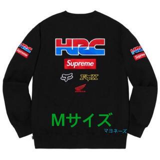 シュプリーム(Supreme)の Supreme Honda Fox Racing Crewneck  Mサイズ(スウェット)