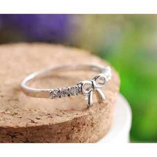 リボン型指輪(シルバー) 15号(リング(指輪))