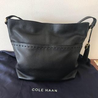 コールハーン(Cole Haan)の◾️sale!◾️ COLE HAAN  コールハーン ・バッグ ・ブラック(ショルダーバッグ)