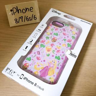 Disney - ラプンツェル iPhone6.6s.7.8専用 イーフィット  ピンク 可愛い