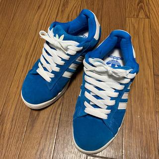 アディダス(adidas)のアディダス オリジナルス Campus 26.5cm ブルー(スニーカー)