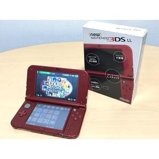 ニンテンドー3DS - 【送料無料】ニンテンドー New3DSLL メタリックレッド ✨美品✨