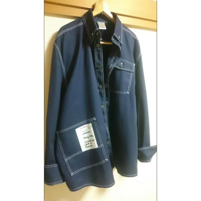 Balenciaga(バレンシアガ)のヴェトモン  カーハート  ワークジャケット S ネイビー メンズのジャケット/アウター(ブルゾン)の商品写真