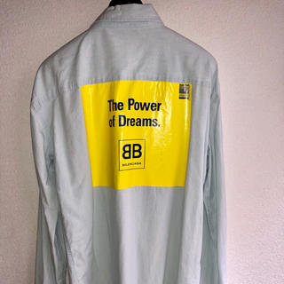 Balenciaga - BALENCIAGA the power of dreamsデニムシャツ