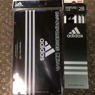 アディダス(adidas)の新品★adidas色鉛筆&鉛筆1ダース(鉛筆)