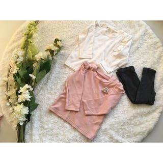 プティマイン(petit main)のプティマイン    ノーブランドセット  80-90  新品含む(Tシャツ)
