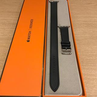 Hermes - (正規品) Apple Watch ドゥブルトゥール エルメス ブルーインディゴ