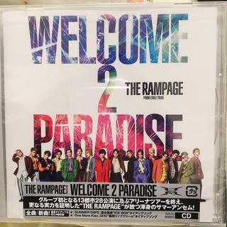 ザランページ(THE RAMPAGE)の新品未開封品 THE RANPAGE/WELCONE 2 PARADAISE(ポップス/ロック(邦楽))