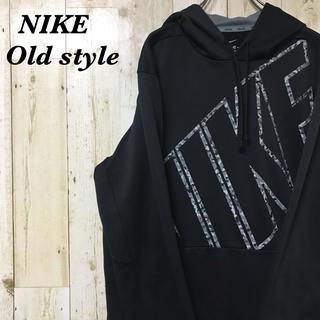 NIKE - 【激レア】ナイキ☆ビッグロゴ サーマフィット パーカー