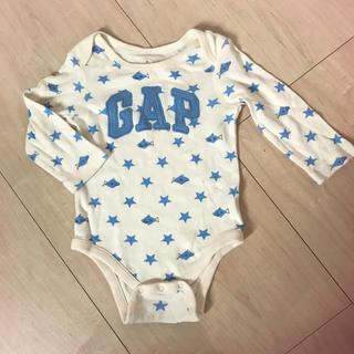 ベビーギャップ(babyGAP)のmi mi様専用  ベビーギャップ 長袖ロンパース 70(ロンパース)