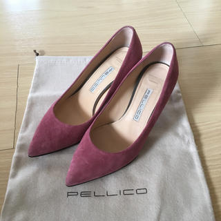 PELLICO - ペリーコ  スエード パンプス