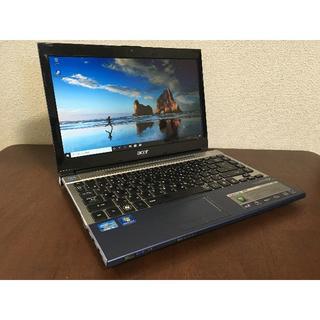 エイサー(Acer)のAcre 3830T/i5/4G/240G/13.6inc/Win10(ノートPC)