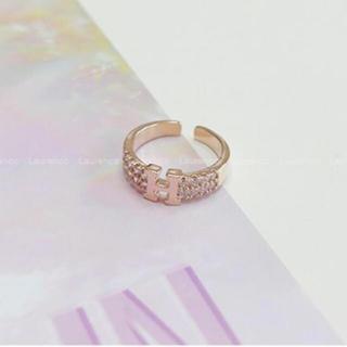 エルメス(Hermes)のHモチーフリング(リング(指輪))