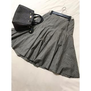 BURBERRY - 美品 バーバリー スカート  柄 フレア