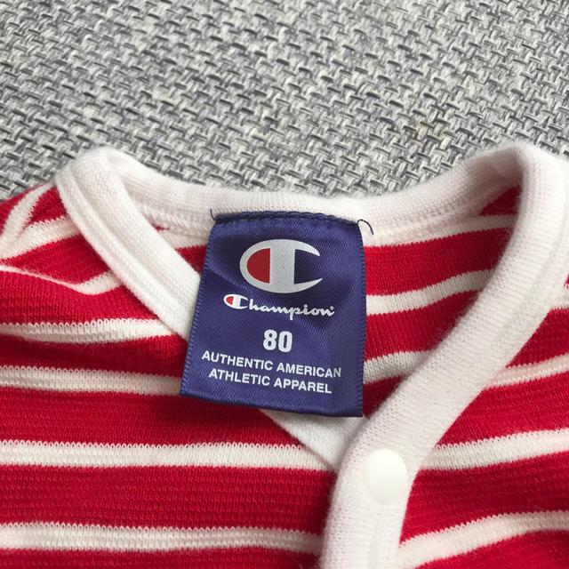 Champion(チャンピオン)のchampion カバーオール キッズ/ベビー/マタニティのベビー服(~85cm)(カバーオール)の商品写真
