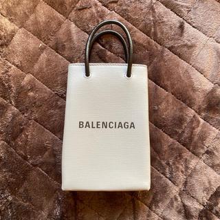 Balenciaga - バレンシアガ フォン ホルダー サウス ショッピング ショルダーバッグ