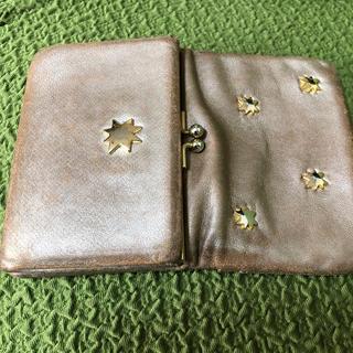 TSUMORI CHISATO - ツモリチサト.がま口2つ折り財布.多機能の大容量 メタルの星が可愛い