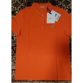 MONCLER - 日本正規店購入!MONCLER★モンクレール★ポロシャツ(オレンジ)