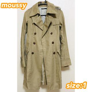 moussy - moussy トレンチコート