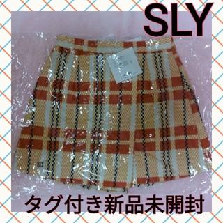SLY - 新品未開封 スライ キュロットスカート