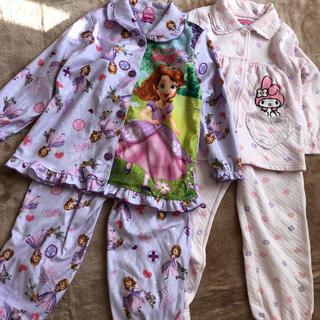 Disney - ソフィア♡マイメロディ 2枚セット パジャマ120