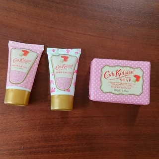 キャスキッドソン(Cath Kidston)のキャス・キッドソン ボディクリーム シャワージェル 石鹸(ボディローション/ミルク)