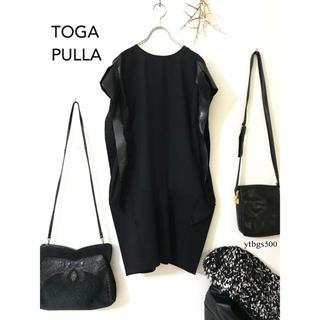 TOGA - TOGA PULLA トーガプルラ◆ワンピース ドレス ブラック◆レディース 1