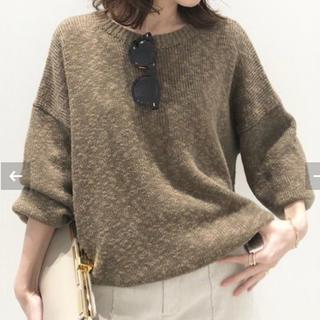 L'Appartement DEUXIEME CLASSE - L'Appartement ◇Volume Sleeve Knit カーキ