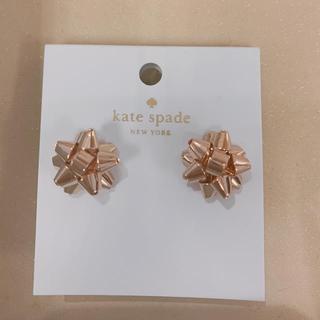 kate spade new york - ケイトスペード ボウデザインピアス