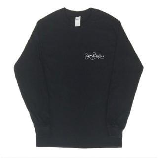 シンプル ロゴ プリント 長袖 ロングTシャツ git136-3