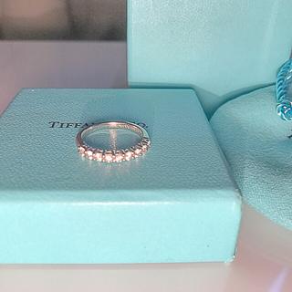 ティファニー(Tiffany & Co.)の極美品✨ Tiffany Embraceバンドリング (リング(指輪))
