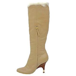 ヴィチーニ(VICINI)の美品ヴィチーニ暖かスマート豪華高級ブーツ価格14万(ブーツ)