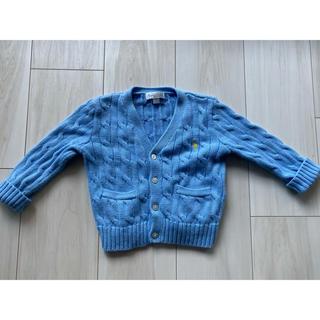 ラルフローレン(Ralph Lauren)のラルフローレン ニットカーディガン セーター ブルー(カーディガン)