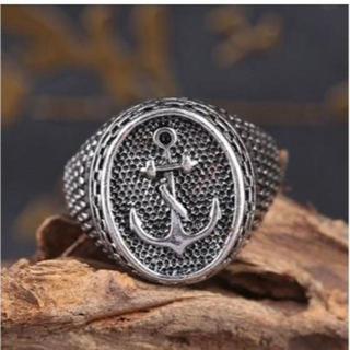 アンカー( 碇 イカリ )モチーフ の リング 指輪 メンズ レディース(リング(指輪))