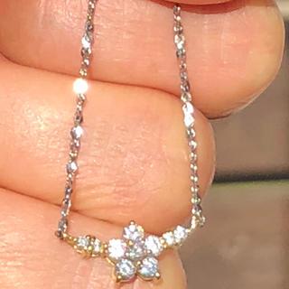 k18 ダイヤモンドネックレス プラチナ