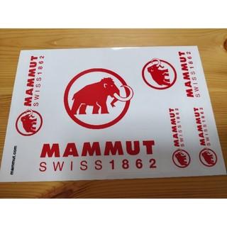 Mammut - 残7 MAMMUT ステッカー