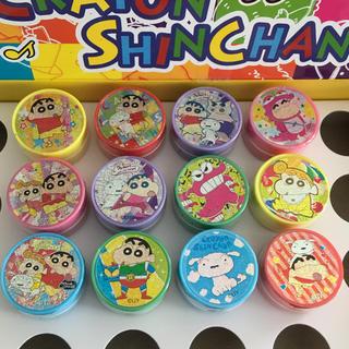 クレヨンしんちゃん スタンプ 12個(キャラクターグッズ)