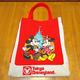 25周年 ショッピングバッグデザイン ディズニー 復刻トート レッド