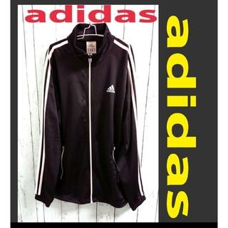 adidas - adidas アディダス  パフォーマンスロゴ 黒 トラックジャケット ジャージ