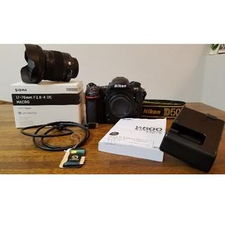 Nikon - ショット少☆美品☆Nikon D500 Sigma 17-70mm F2.8-4