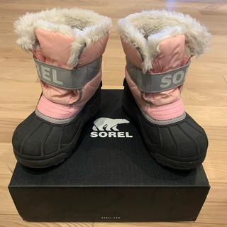 ソレル(SOREL)のSOREL スノーコマンダー 16cm used(ブーツ)