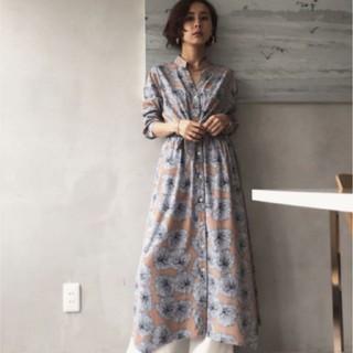 Ameri VINTAGE - 新品 AMERI アメリ TIE SHIRT DRESS シャツワンピース