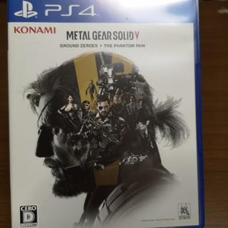 KONAMI - メタルギア ソリッド V グラウンド・ゼロズ + ファントムペイン PS4